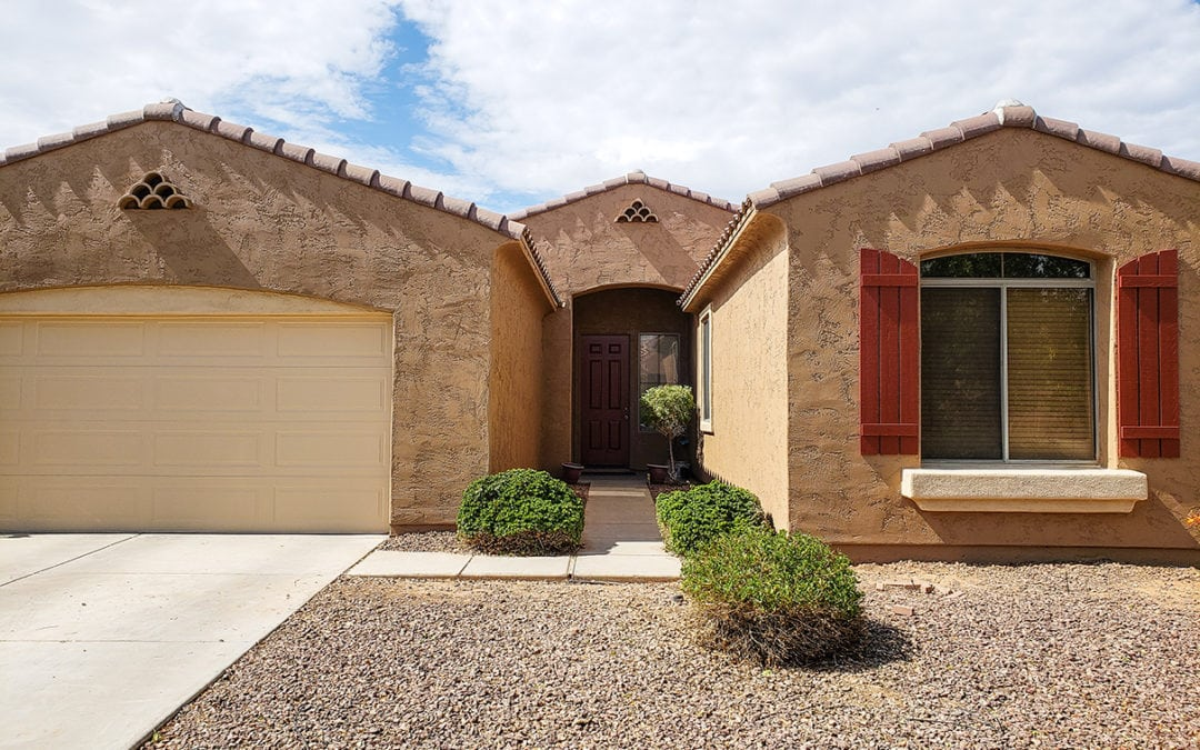 Dated Stucco Refresh   Exterior Residential Painting
